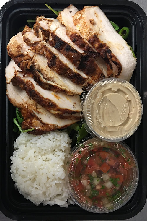 Shawarma Grilled Chicken Thigh Meal