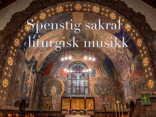 Rytmisk liturgiserie (Hør demo med band / med orgel)
