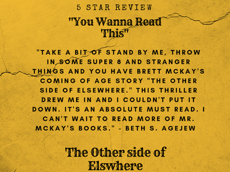 Rave Reviews for The Other Side of Elsewhere