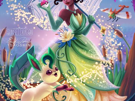 Crossover Disney + Pokémon, já pensou? ...Esses artistas pensaram!