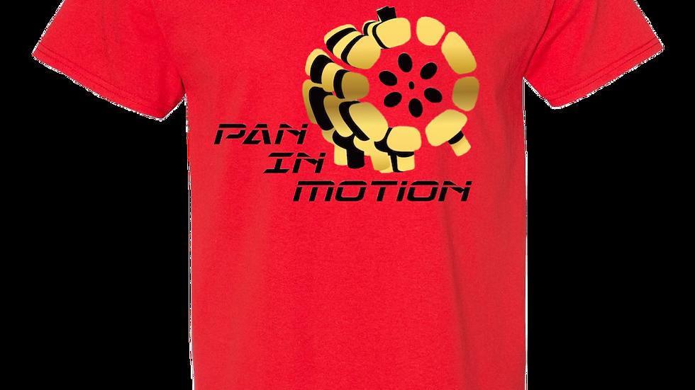 """""""Red"""" Pan in Motion Logo T-shirt (Unisex)"""
