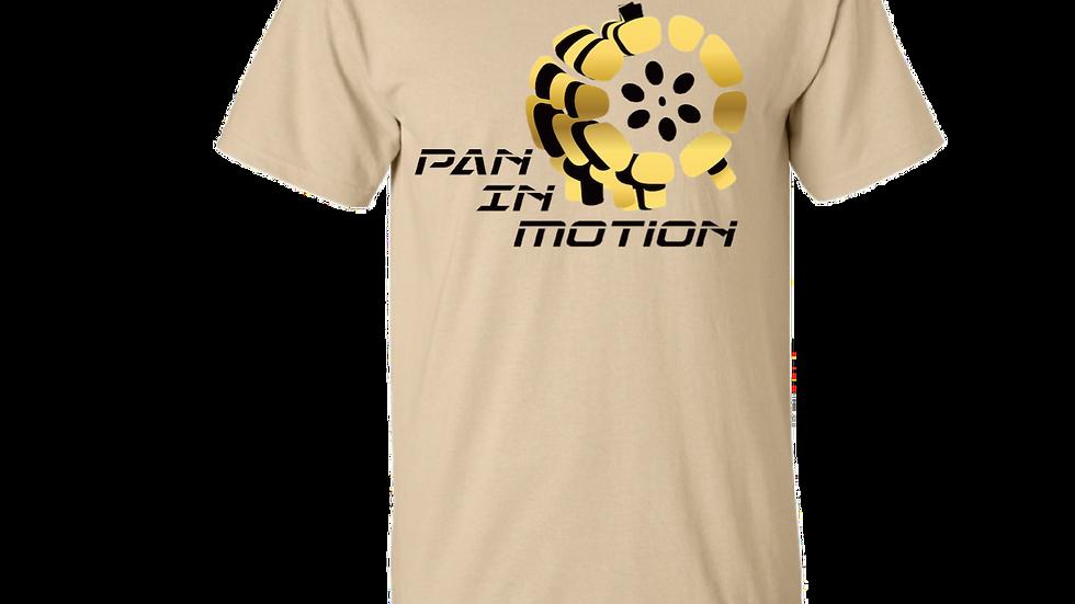 """Ecru"" Pan in Motion Logo T-shirt (Unisex)"