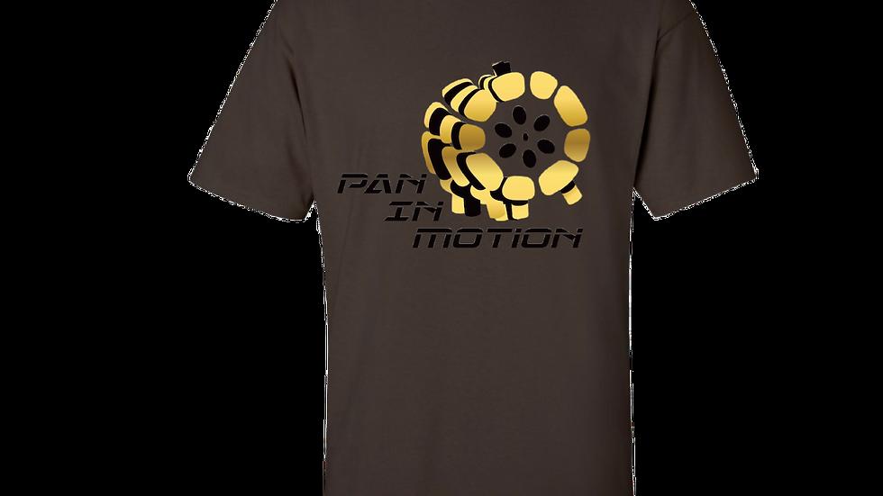 """""""Umber"""" Pan in Motion Logo T-shirt (Unisex)"""