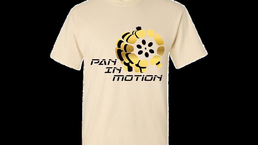 """Buff"" Pan in Motion Logo T-shirt (Unisex)"