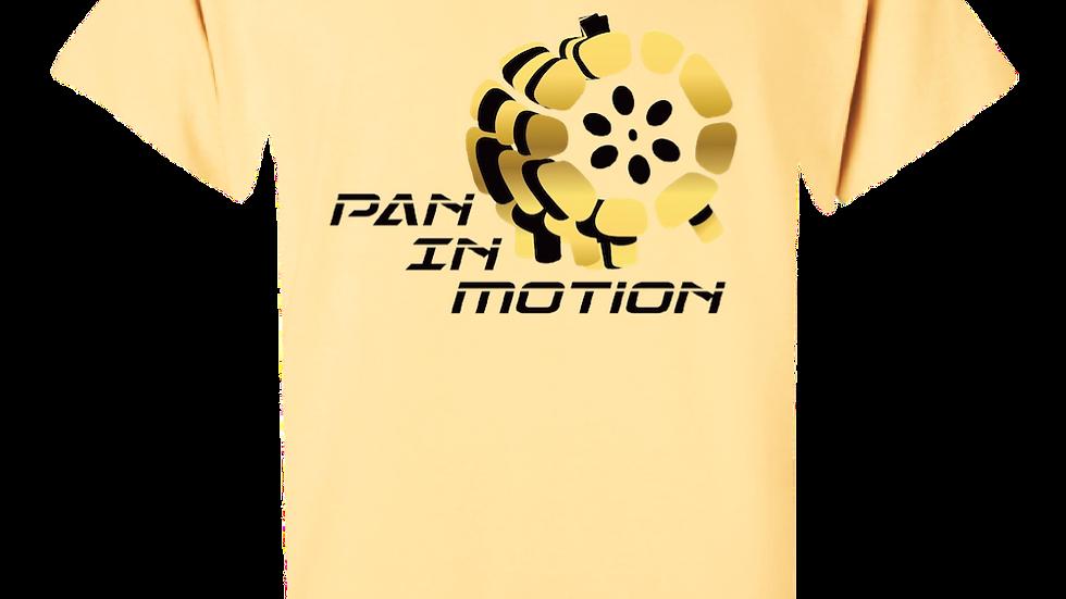 """Chamois"" Pan in Motion Logo T-shirt (Unisex)"