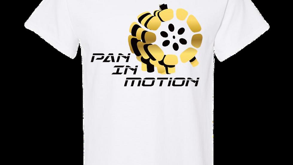 White Pan in Motion Logo T-shirt (Unisex)