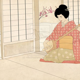 Playing Geisha