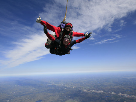 The Last Time I Felt This Way I Went Skydiving.