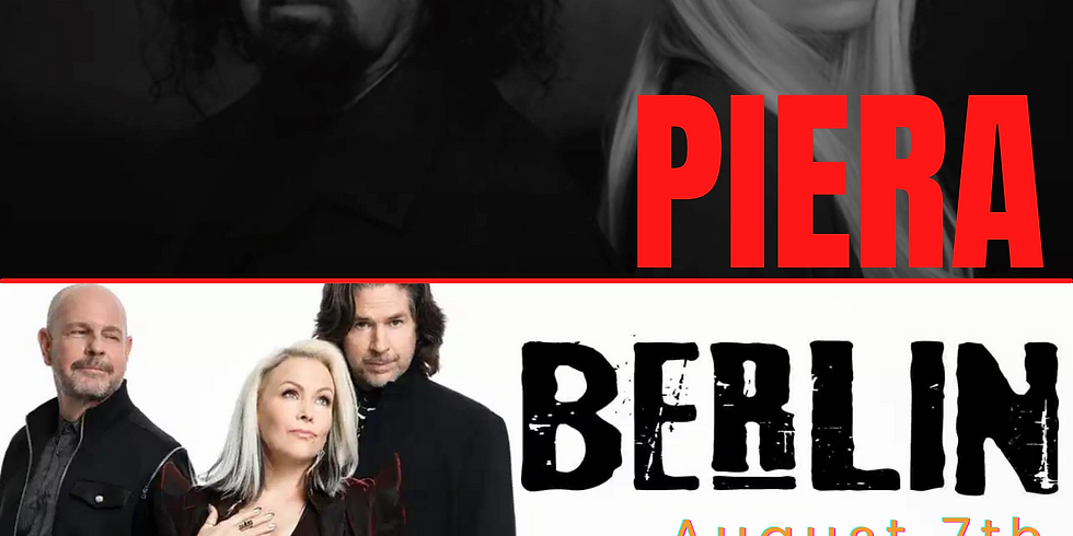 PIERA + BERLIN Live at The Canyon Montclair