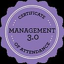 Management3.0_CertificateOfAttendanceBad