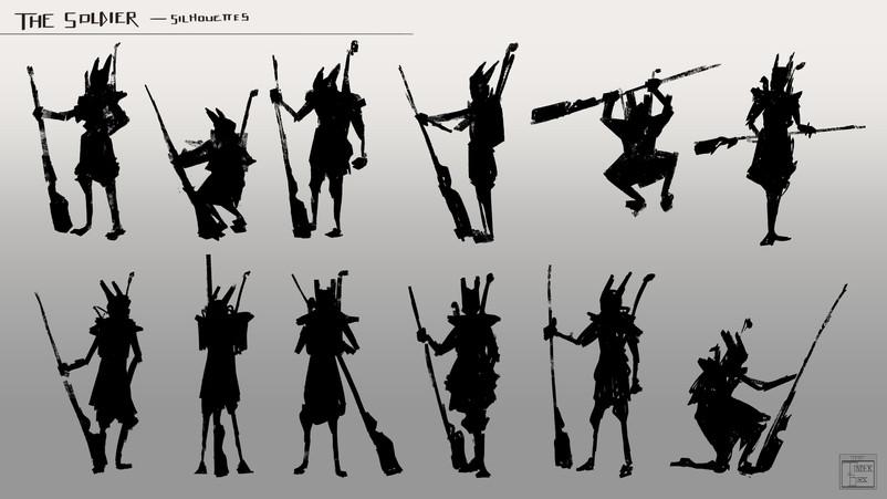 Yalkat_silhouettes