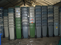 HDPE bins