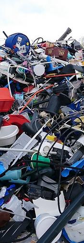 Plastavfall som krever sortering