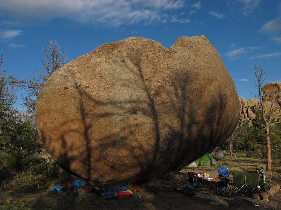 Vedauwoo boulder