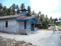 Gammel kirke fra før Tsunamien
