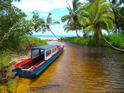 Indonesisk motorbåt