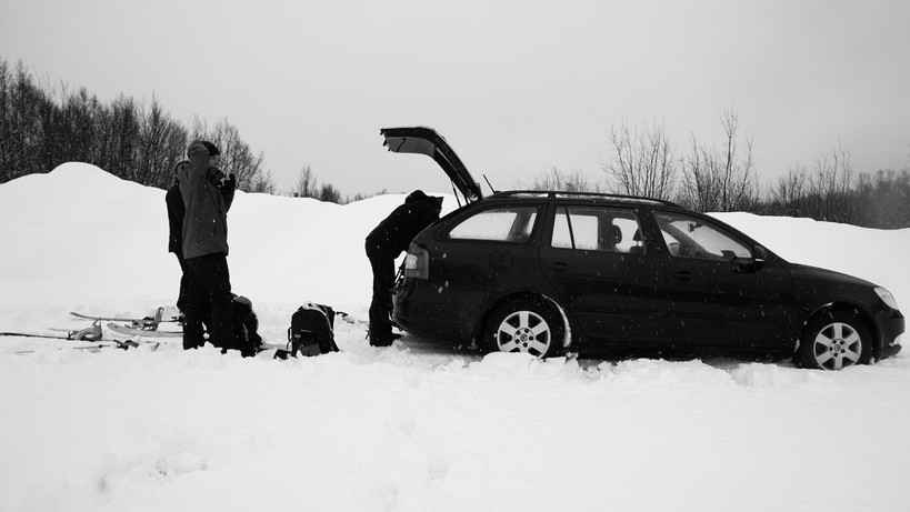 Nabobil fraktet oss enkelt til fjellene