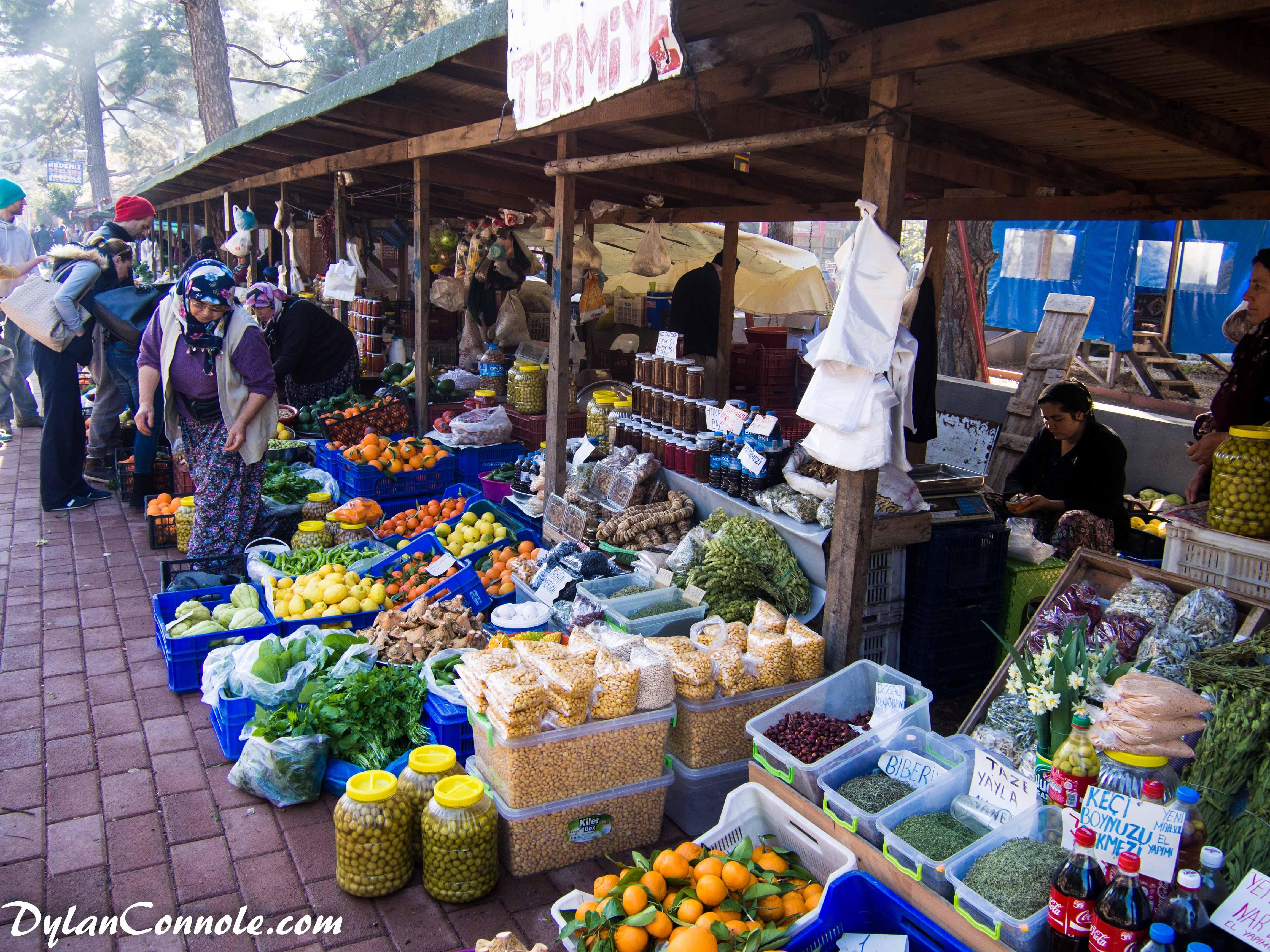 Tyrkisk marked hver søndag