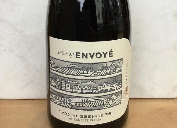 """Maison L'Envoye """"Two Messengers"""" Pinot Noir"""
