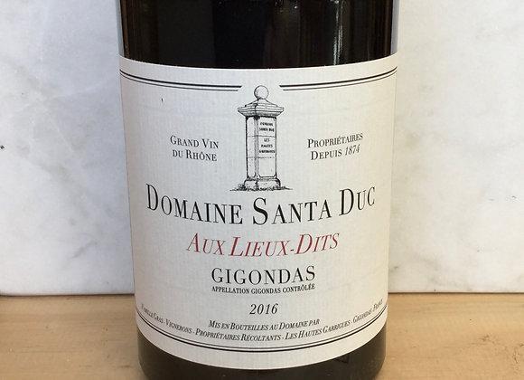 Domaine Santa Duc Aux Lieux-Dits Gigondas