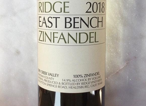 Ridge Vineyards East Bench Zinfandel