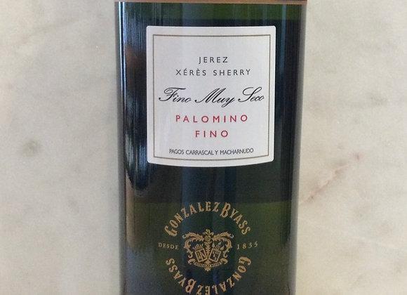 Gonzalez Byass Tio Pepe Palomino Fino Sherry  750 ml