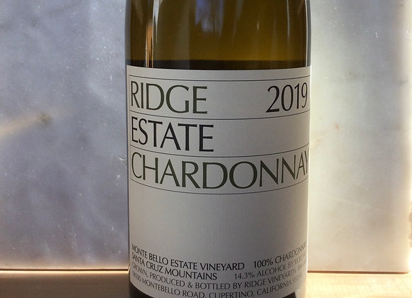 Ridge Vineyards Monte Bello Estate Chardonnay