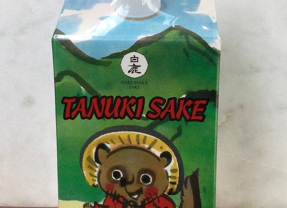 Tanuki Sake in a Boc