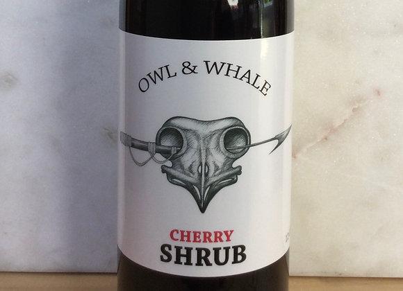 Owl & Whale Cherry Shrub