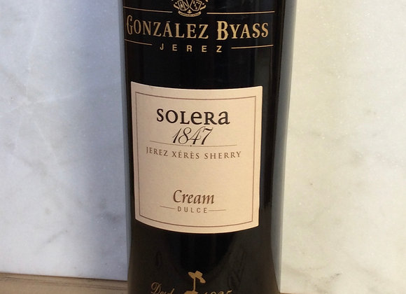Gonzalez Byass Solera 1847 Cream Sherry