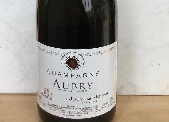Champagne Aubry Rose Brut Premier Cru