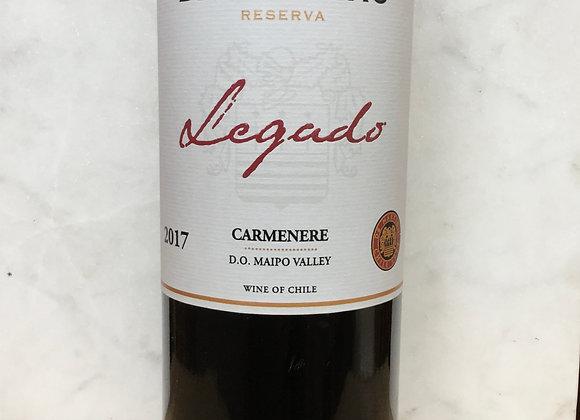 """DeMartino """"Legado"""" Carmenère"""