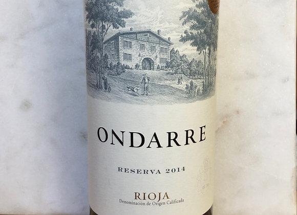 Bodegas Ondarre Rioja Reserve