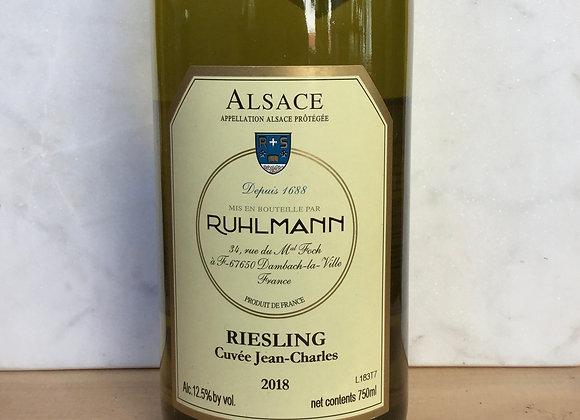 Ruhlmann Riesling Cuveé Jean-Charles