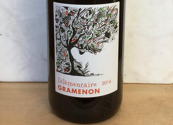 Domaine Gramenon Côtes du Rhône Villages Valréas L'Elementaire
