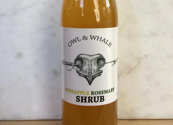 Owl & Whale Pineapple Ginger Shrub