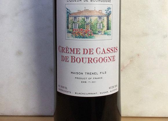 Maison Trenel Fils Creme de Cassis de Bourgogne