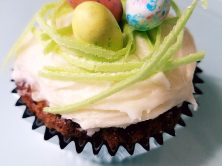 Carrot Cake - Easter Cupcakes