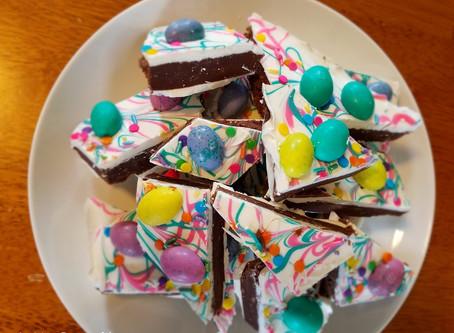 Easter Truffle Bark