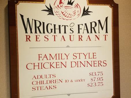 Wright's Farm Restaurant - Family Style - Family Fun
