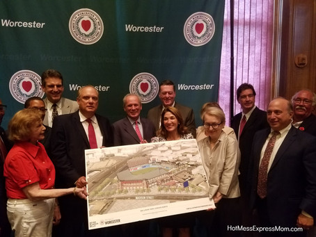 The Worcester Red Sox at Polar Park - The Pawtucket Red Sox are Coming to the City of Worcester!