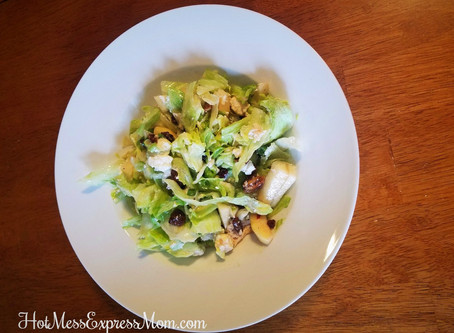 The Most Delicious Pear Salad Ever!  Don't even get me started on how good the dressing is!