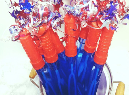 Easy DIY Firecracker Bubbles - 4th of July Fun