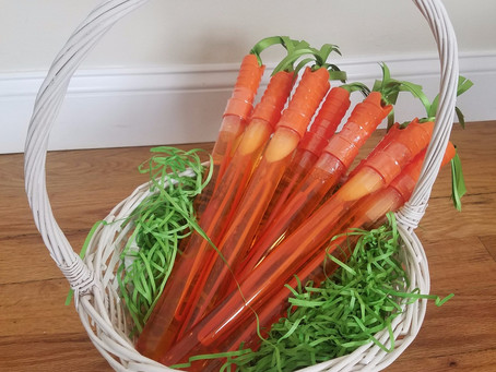 Non-Candy Easter Basket Carrot Bubbles