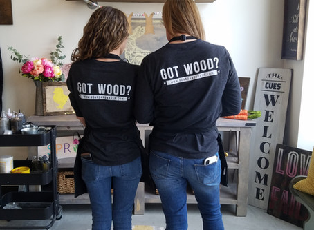 Board & Brush - DIY Wood Sign Workshop - The Ultimate Girls Night (or Day) Experience