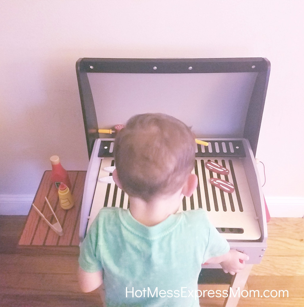 Hape Toy Grill