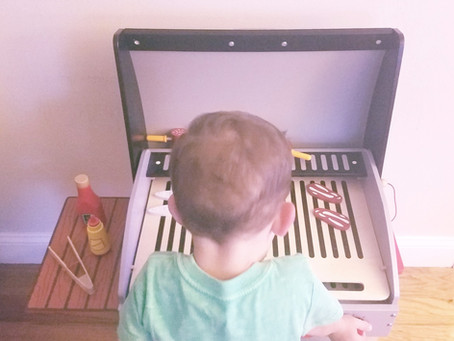 Toy Tuesday - Hape Gourmet BBQ Grill Must Have!