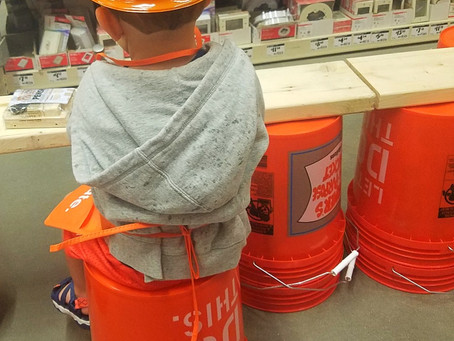 Home Depot Kids Workshop -  Free Family Fun Activity