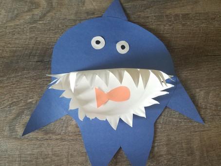Shark Week Crafts!