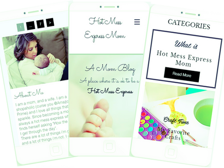 Introducing...Hot Mess Express Mom!